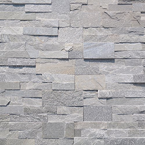 Price comparison product image Natural Stone Stacked Panel, Tarah 7 sq. ft. Panel 6 in. x 24 in. x 0.40 in.- 0.80 in.