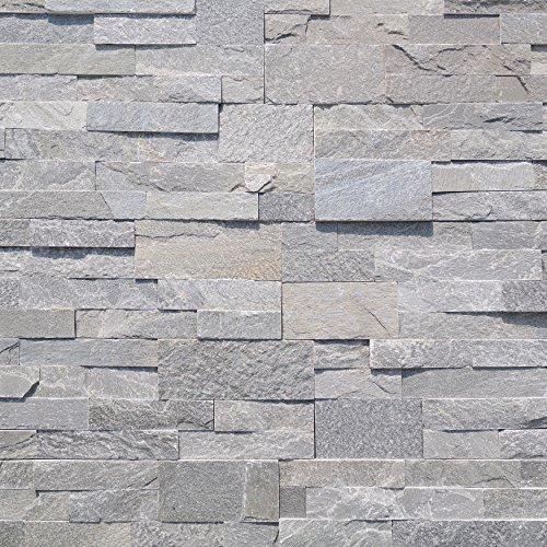 Koni Stone Citali Series Tarah 7 sq. ft. Panel 6 in. x 24 in. x 0.40 in.- 0.80 in. Natural Stone by Koni Stone