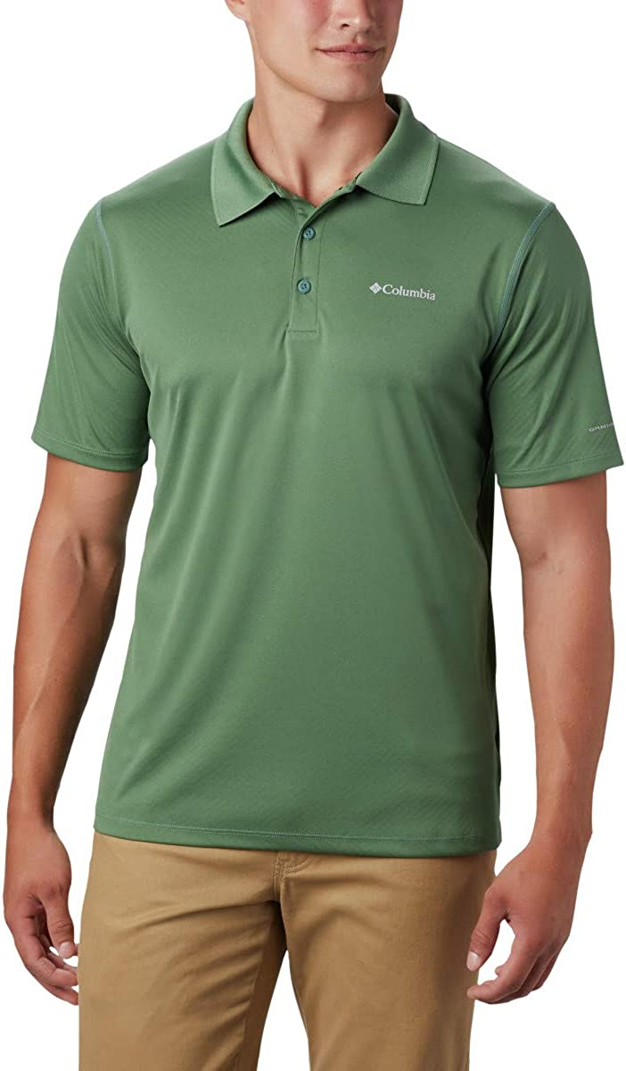 Columbia Mens Zero Rules Polo Shirt: Clothing