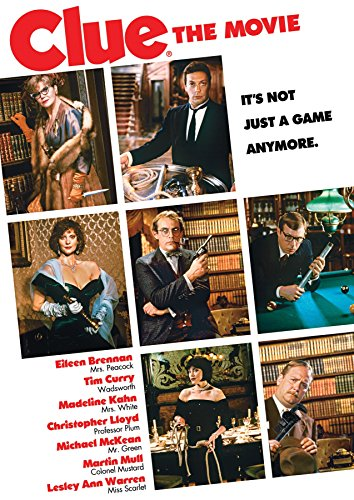 Clue [Edizione: Stati Uniti] [DVD]: Amazon.es: Eileen Brennan, Tim Curry, Madeline Kahn, Christopher Lloyd, Michael McKean, Martin Mull, Lesley Ann Warren, Danny Costa, Don Camp, John-Clay Scott, Bill McIntosh, Janet Hirshenson, Jane