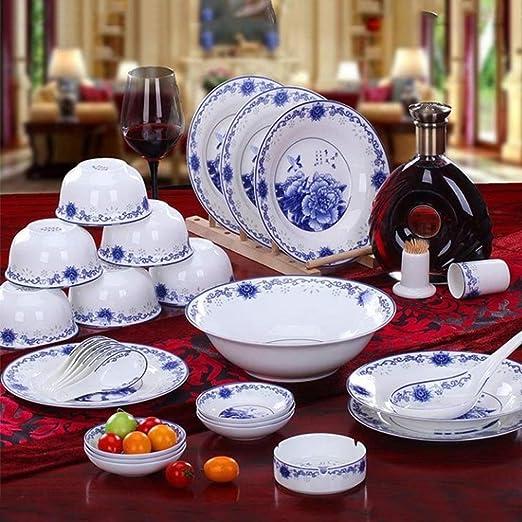 Amazon.com: YLee Bone China Vajilla Set Jingdezhen (28 ...