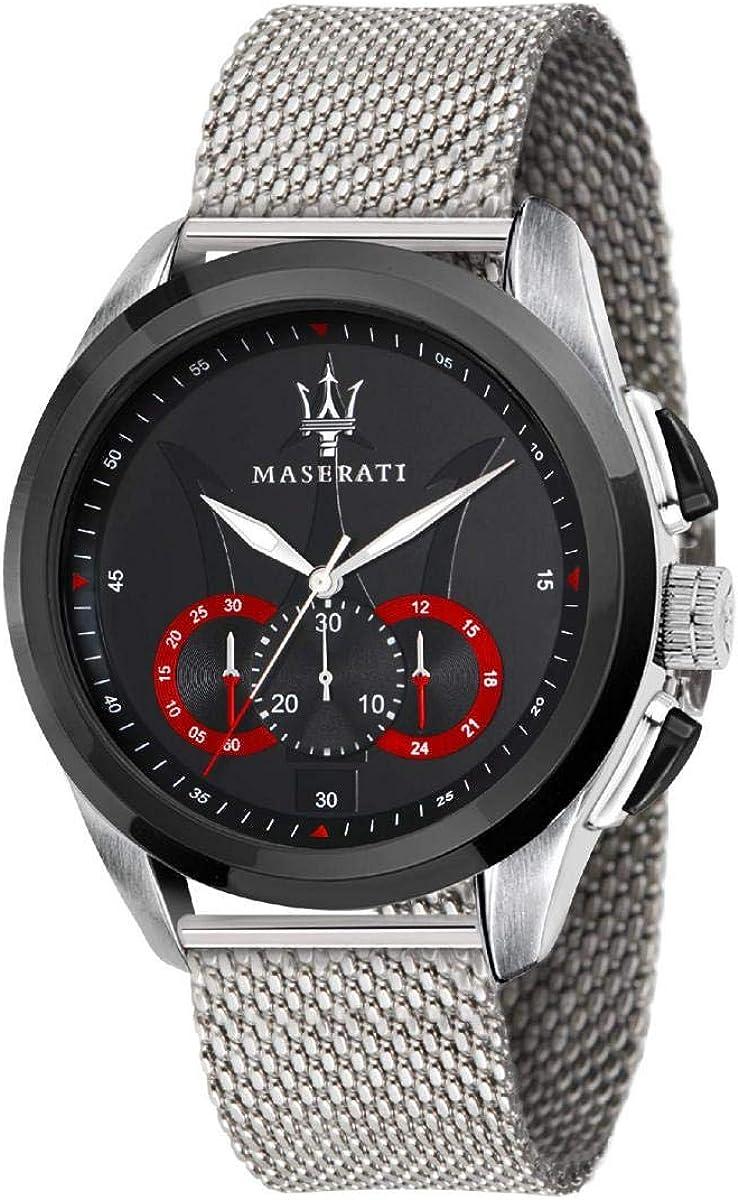 Reloj para Hombre, Colección Traguardo, Movimiento de Cuarzo, cronógrafo, en Acero - R8873612005