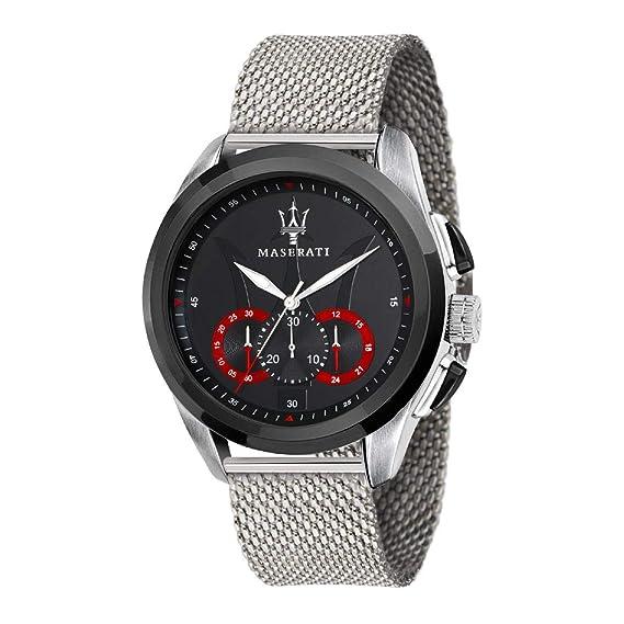 MASERATI Reloj Cronógrafo para Hombre de Cuarzo con Correa en Acero Inoxidable R8873612005