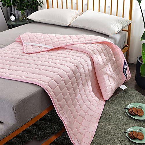 ノンスリップ畳マットレス,薄いベッド マットレス,シングル ダブル ベッドのほこりダニ マットレス保護パッド反,快適な 洗濯-D 180*200cm