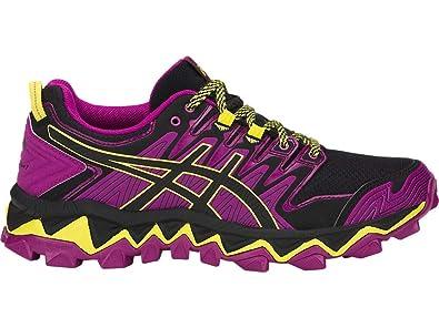 7e2eb97799f ASICS Women's Gel-Fujitrabuco 7 Running Shoes, 6.5M, Purple Spectrum/Black