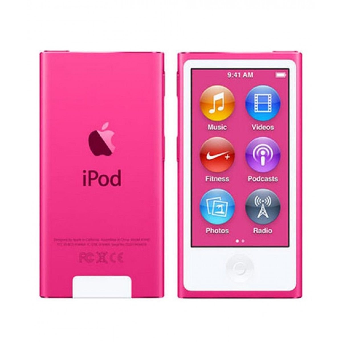 Amazon.com: Apple iPod Nano 7th Generation 16GB Pink 3A655V/A: Electronics