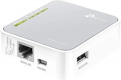 TP-Link TL-MR3020 - Enrutador de viaje Wi-Fi portátil (3G/4G de ...