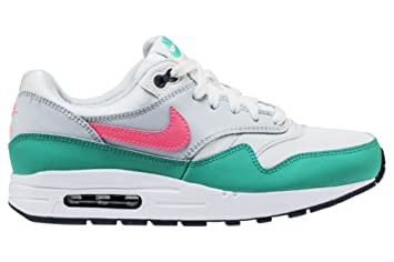 order best deals on where to buy Nike Air Max 1 (Gs) - Summit White/Sunset Pulse-Kine ...
