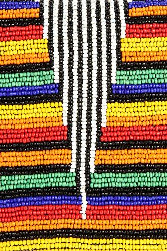 MyBatua Lily Regenbogen -multi Farbe wulstige Handtasche mit Innentasche ACP-395