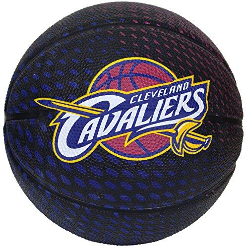 Spalding NBA Cleveland Cavaliers Team Colors And Logo Mini Basketball