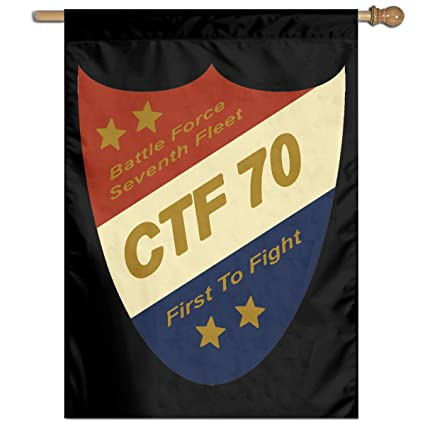 Amazon com: DAFLAG CTF 70 First to Fight Garden Banner Yard