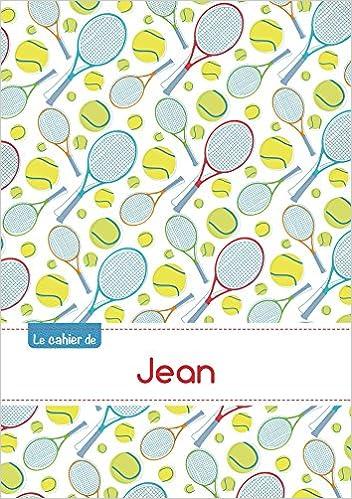 Livres gratuits en ligne Le cahier de Jean - Séyès, 96p, A5 - Tennis epub pdf