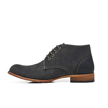 Apragaz Botines de Hombre Zapatos Altos de Desierto Zapatos ...