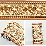 SimpleLife4U Self Adhesive Wallpaper Border PVC Waterproof Wall Decor Decal  For Bathroom Kitchen
