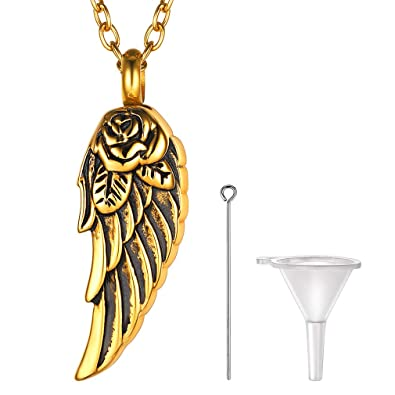 Amazon.com: FaithHeart - Collar de urna de cremación para ...
