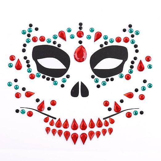 FANGQI - Adhesivo para Tatuaje, Cara a Cara, Festival de música ...