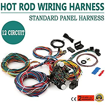 best street rod wiring harness electrical work wiring diagram u2022 rh wiringdiagramshop today Hot Rod Wiring Harness Painless EZ Wiring 21 Circuit Harness