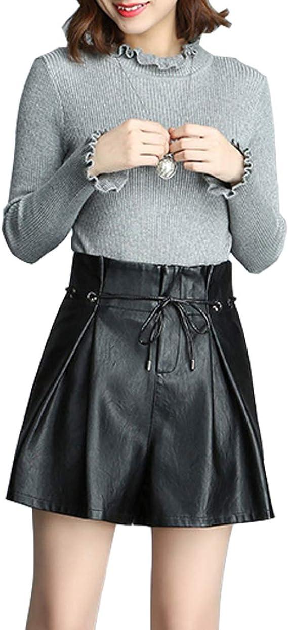 Sidiou Group Short Taille Haute Femme Short