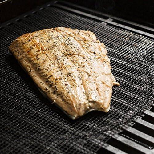 Tapis de barbecue Ounona en maille anti-adhésive 36 x 42 cm