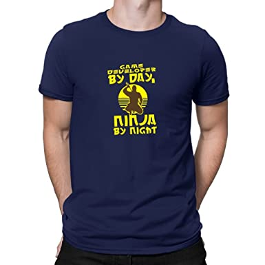 Teeburon Game Developer by Day, Ninja by Night Camiseta ...