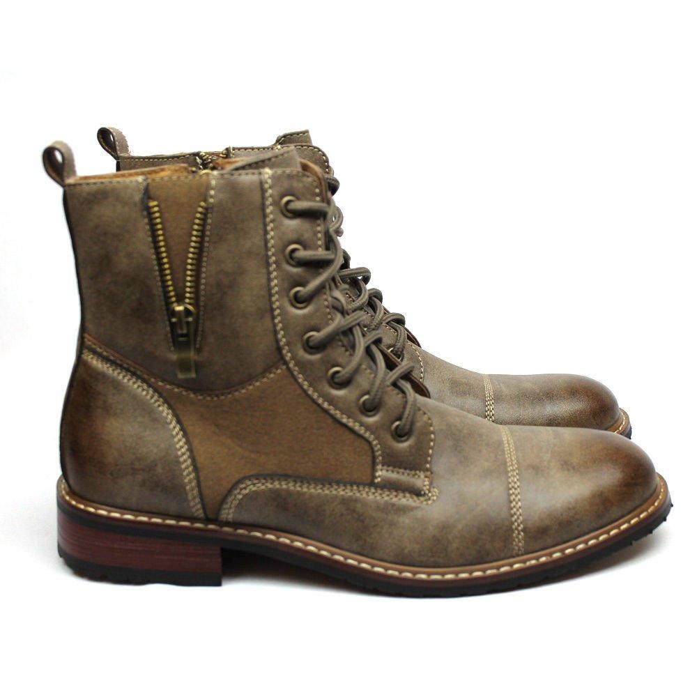 Ferro Aldo Hombre Marrón Vestido Botines Cap Toe 808561: Amazon.es: Zapatos y complementos