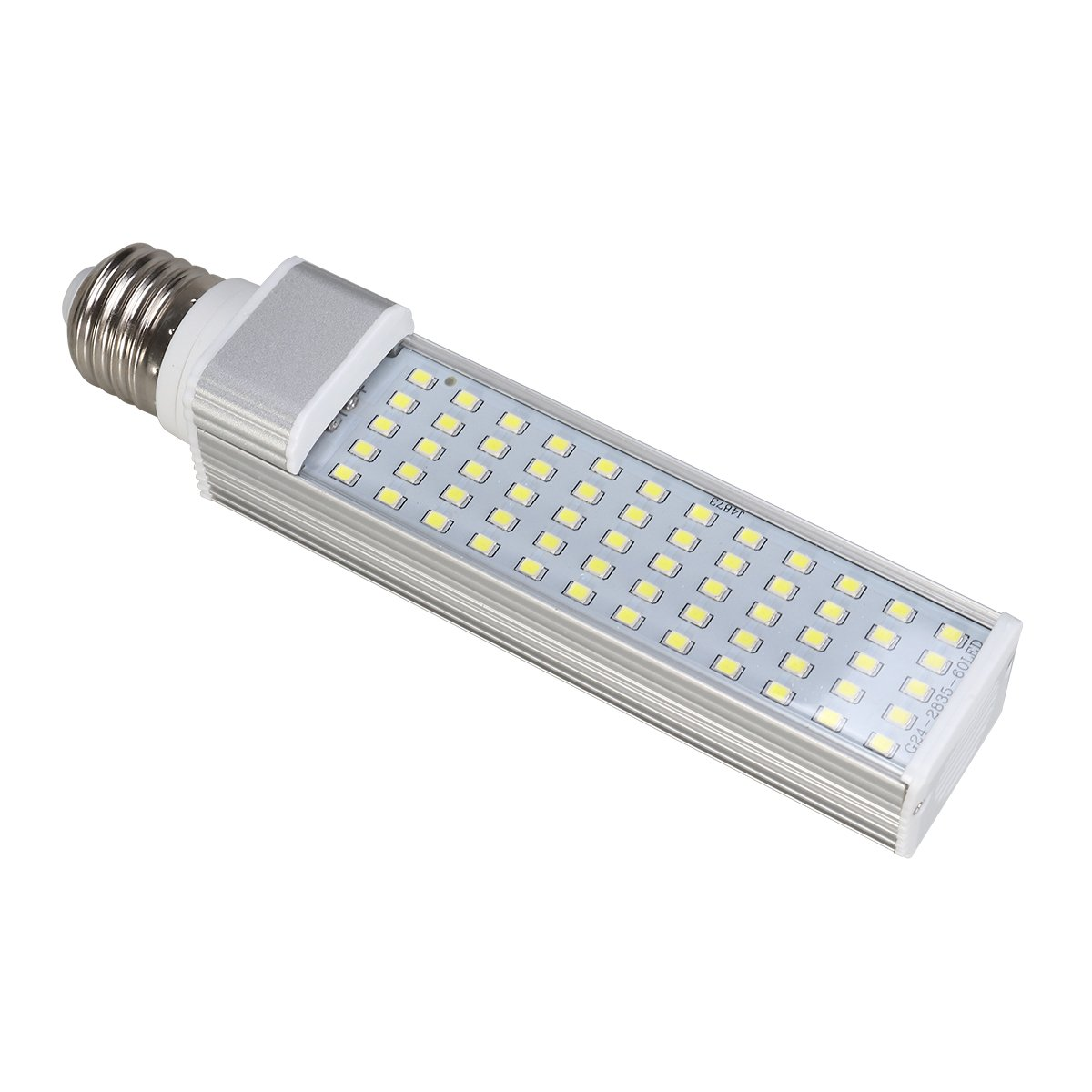 UEETEK 11W E27 LED Energy Saving Lamp to Fit All Fish Pod and Fish Box Aquariums (White)