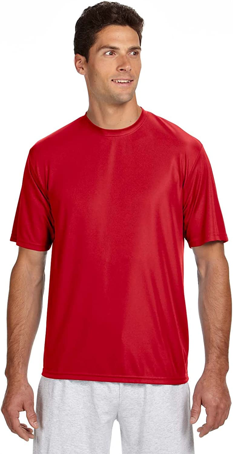 A4 Mens Cooling Performance Crew Short Sleeve Tee
