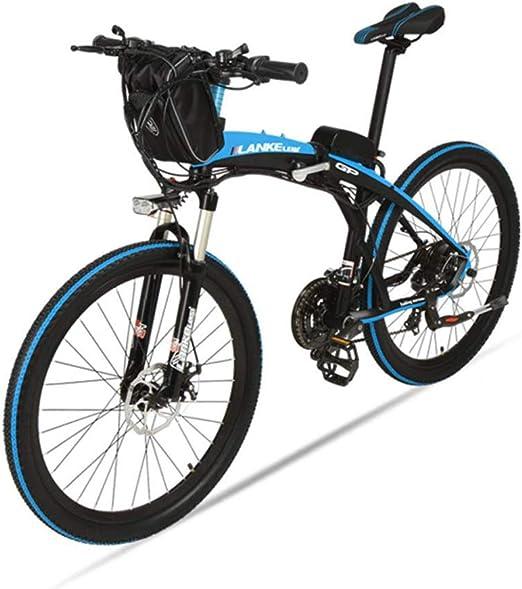 CAKG Bicicleta eléctrica Plegable Bicicleta de montaña para ...