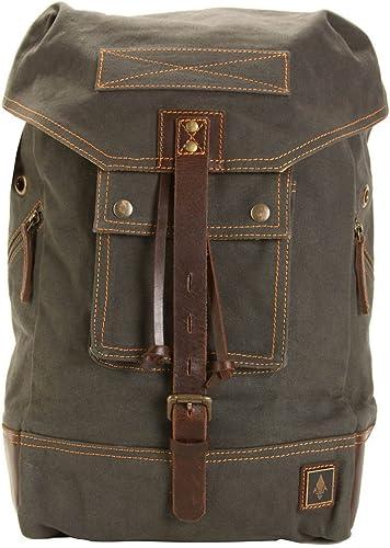 DamnDog Canvas Leather Rucksack Backpack