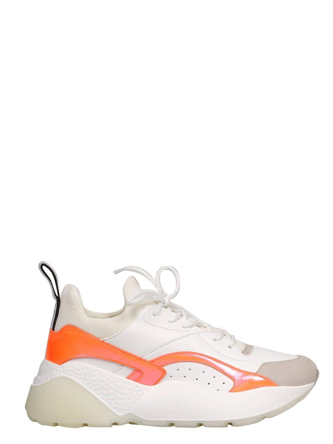 - Stella McCartney Women's 491514W088M9049 White Polyurethane Sneakers