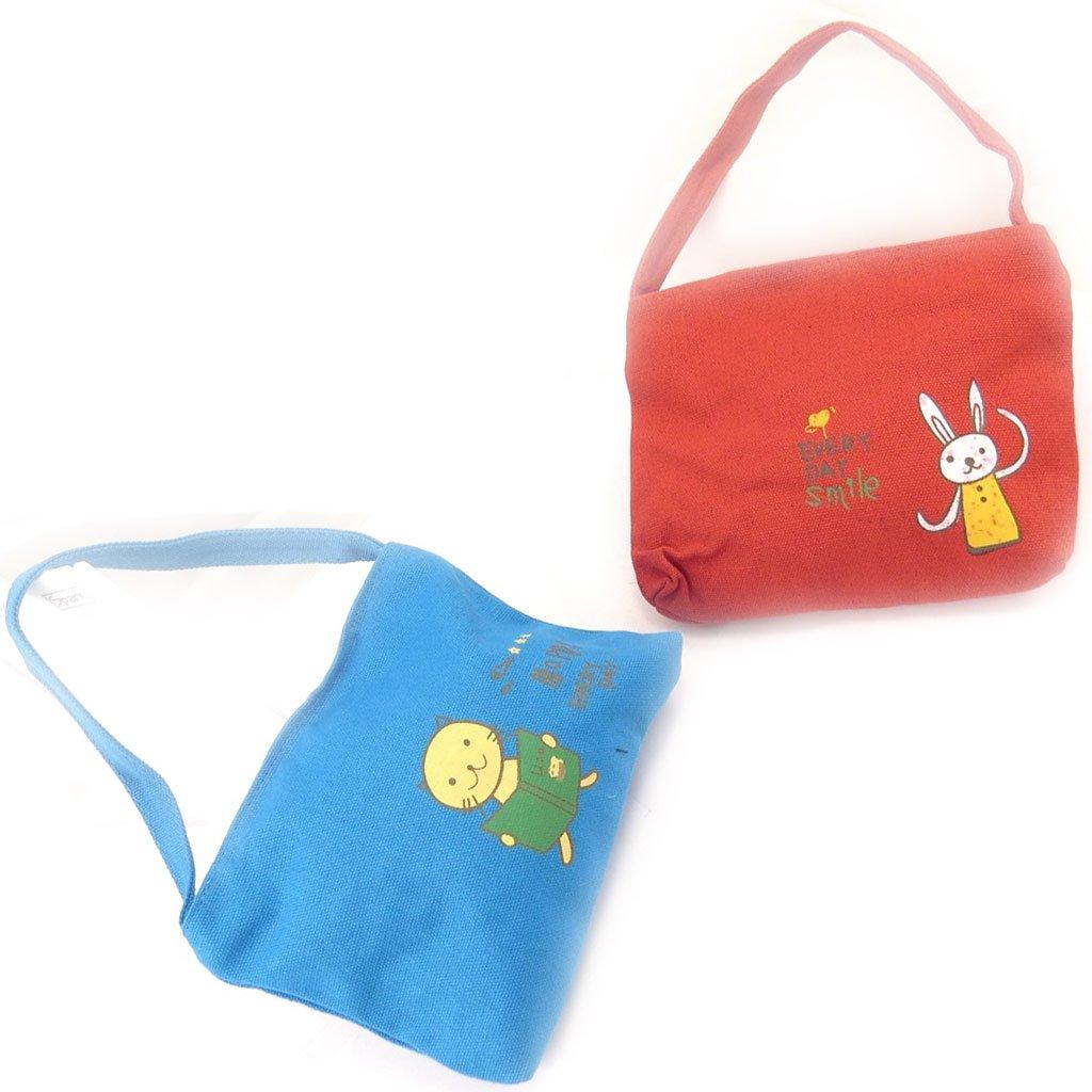Les Trésors De Lily [K8408] - 2 sacs enfant 'Petit Lily' bleu rouge Les Tresors de Lily 030210TOI112013K840800