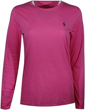 Polo Ralph Lauren Women's Long Sleeve Crew-Neck T-Shirt