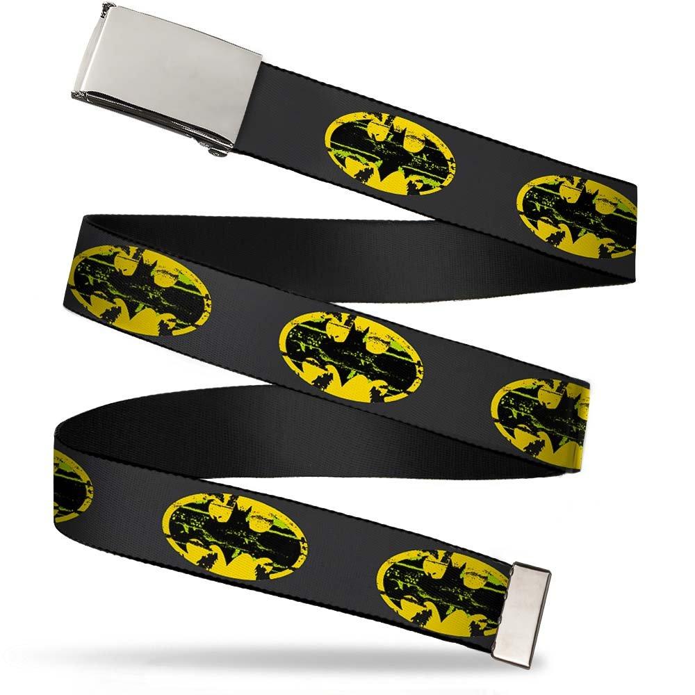Buckle Down boys standard Buckle-down Web Belt Batman 1.25