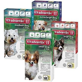 Amazoncom Bayer K9 Advantix Ii Flea And Tick Control Treatment