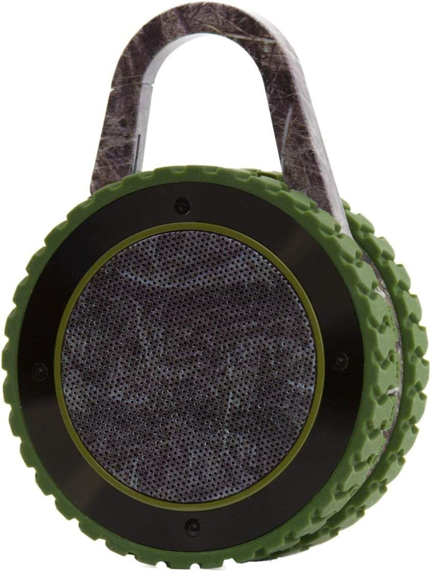 All-Terrain Sound Portable Bluetooth Speaker, Rugged Outdoor Wireless Waterproof Bluetooth Speaker - Camo