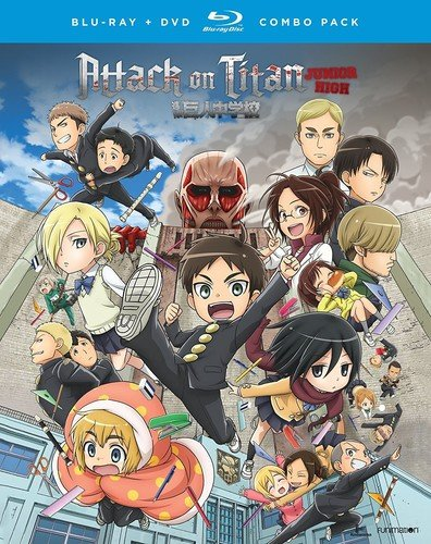 Blu-ray : Attack on Titan: Junior High: The Complete Series (With DVD, Boxed Set, , 4 Disc)