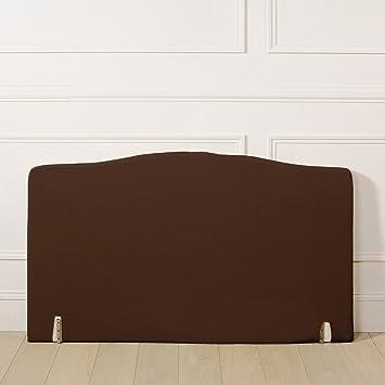 la redoute interieurs housse pour tte de lit louis xv lengte 90 cm marrone