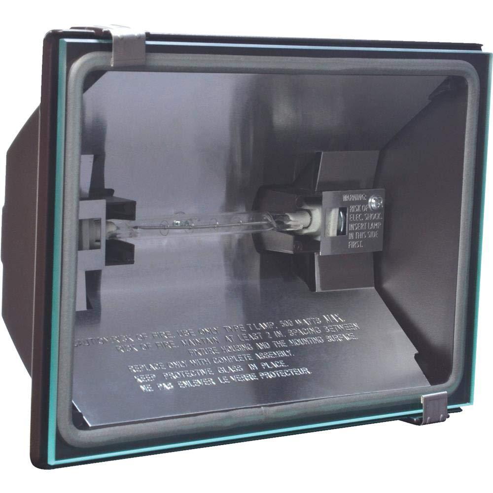 All-Pro GP500WL, 500W Quartz Halogen Floodlight, Bronze