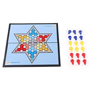B Blesiya Damas Chinas Juegos de Mesa Checker Puzzle Game ...