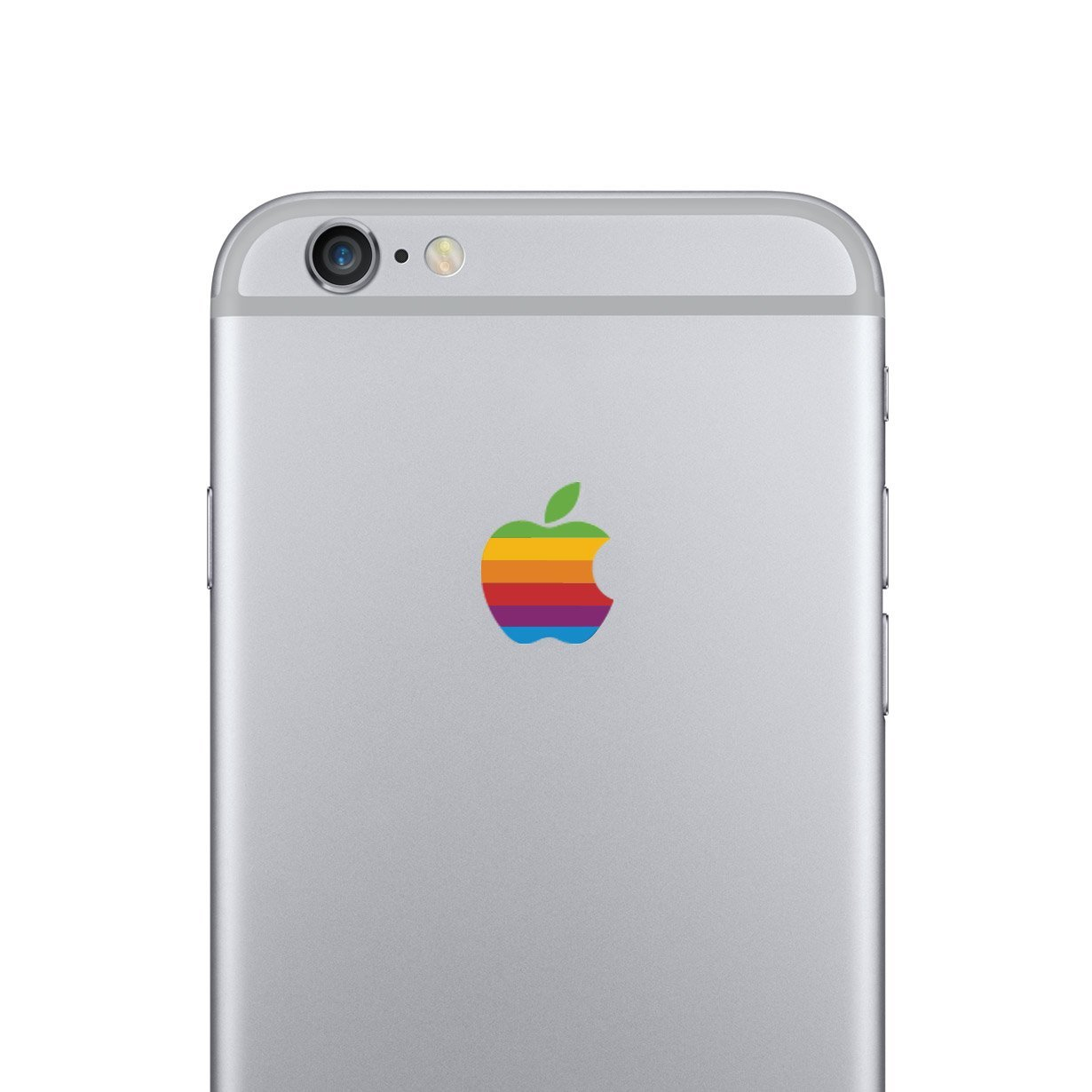 Amazon com retro apple iphone 6 decal sticker for the iphone 6 cell phones accessories