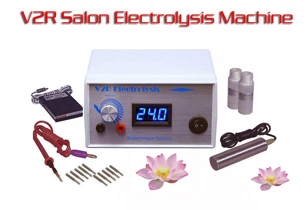 Amazon Com V2r Deluxe Professional Electrolysis Machine For