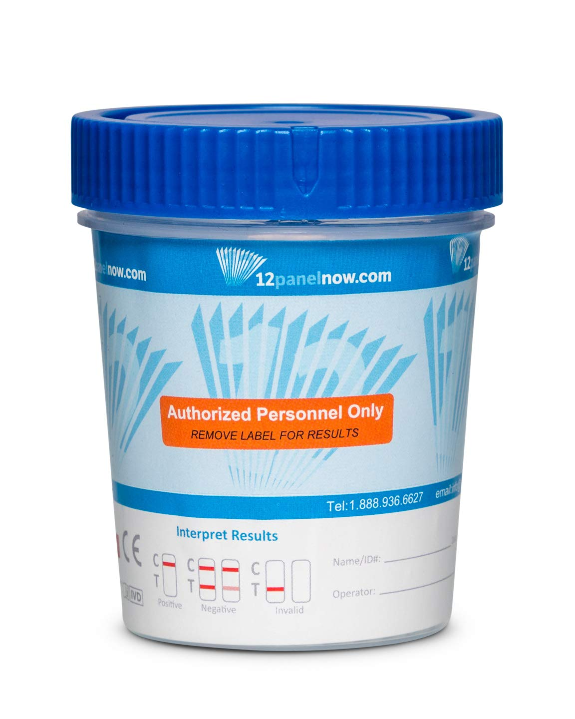 [100 Pack Bulk Special] 12 Panel Urine Drug Test Cups | AMP, BAR, BZO, BUP, COC, MDMA, MET(MaMP), MTD, OPI, OXY, TCA, THC | CLIA WAIVED and FDA Approved by 12 Panel Now
