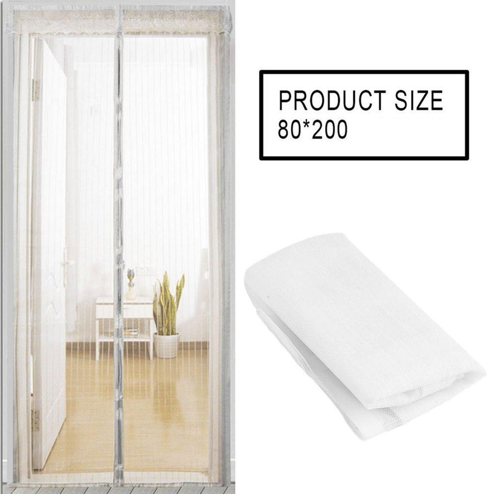 Cortina magné tica de la cortina magné tica del verano cortina automá tica que cierra la pantalla de la puerta Gugutogo