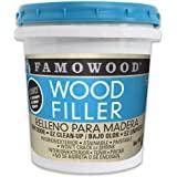FamoWood 40022126 Latex Wood Filler - Pint, Natural