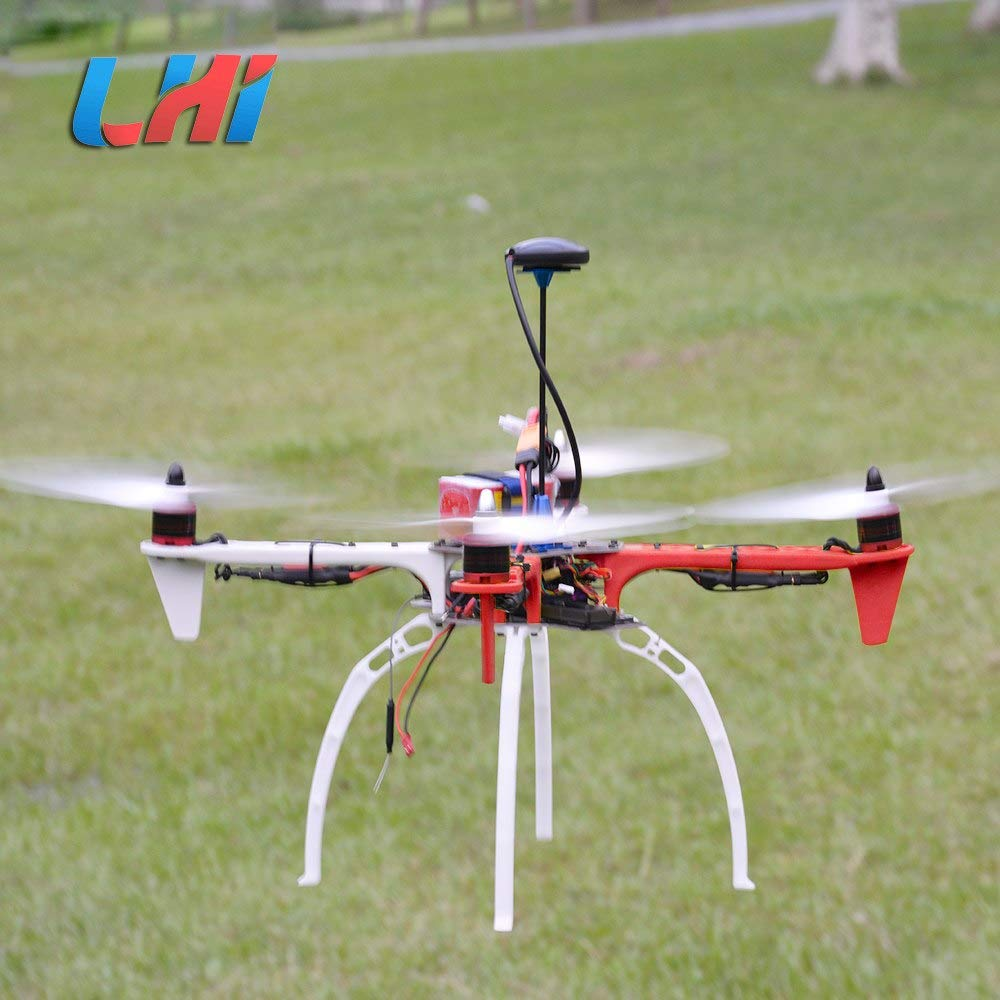 Generic LHI F450 Quadcopter Kit Frame Rack brushless Motor 450 esc APM2.6 and 6M 7M 8M GPS 2212 920KV simonk 30A 9443 Props Dron Drone