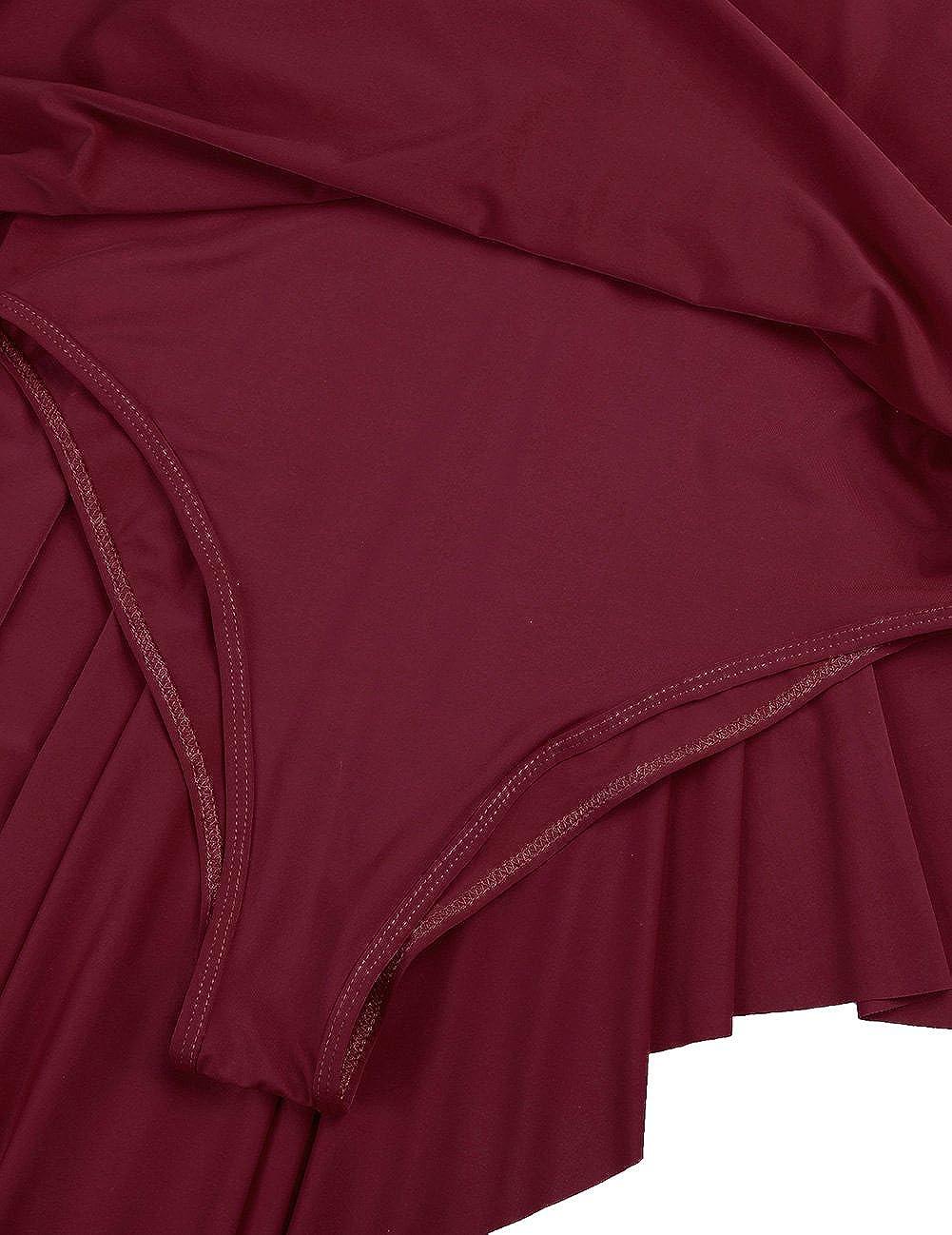 iixpin Women Sleeveless Lyrical Dance Costume Dress Illusion Sweetheart Trianglar Cut Skirt Leotard Ballet Bodysuit