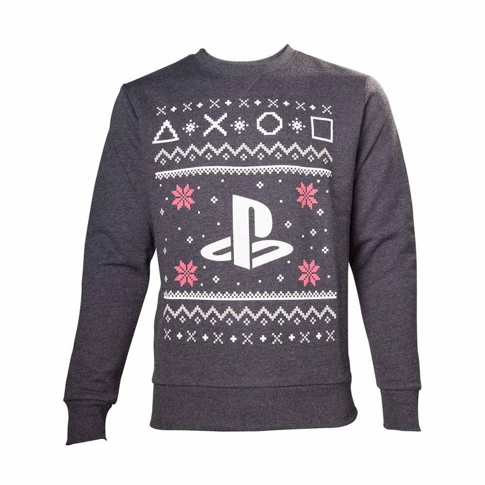 Playstation Sweatshirt Christmas Sweater Black-M
