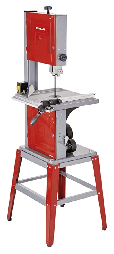 Einhell 4308055 Sierra de cinta 750 W, 240 V, rojo 1145 x 530 x