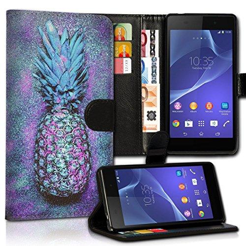 Wallet Book Style Flip Handy Tasche Case Schutz Hülle Schale Motiv Etui für Apple iPhone 5 / 5S - Design Flip MVD163