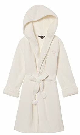 6172be8768 Victoria s Secret Cozy Hooded Sherpa-Lined Plush Robe